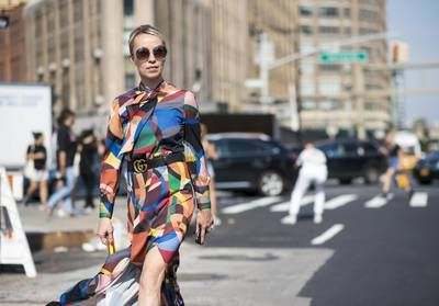 Street style:  vive les robes glamour !