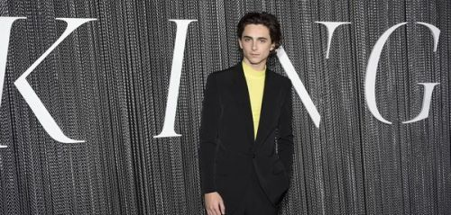 Mode:  Timothée Chalamet, The King of looks