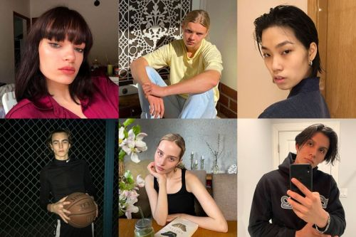 Meet the new faces photographing themselves in quarantine
