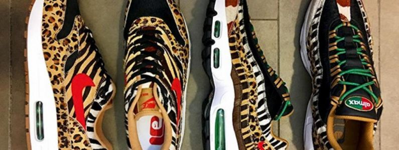 Sneakers:  Les Atmos x Nike Air Max 1 et 95 Animal Pack reviennent en 2018 !