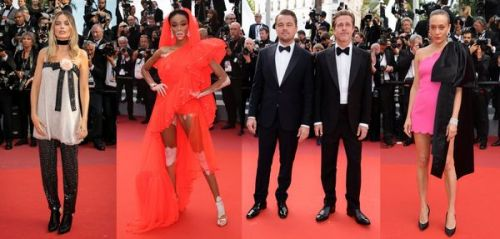 """""""Once Upon a Time in Hollywood"""": une montée des marches au sommet du style"""