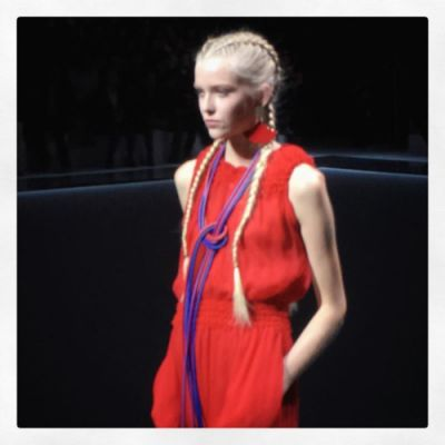 More on emporioarmani armani pfw