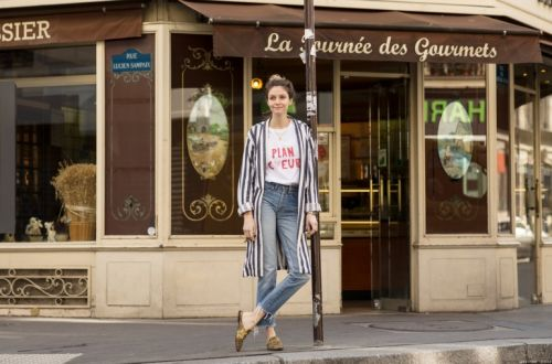 A Street Style with Elise Chalmin