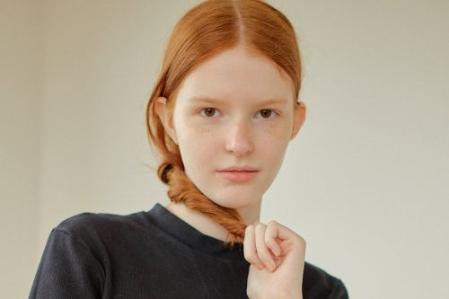 Melani Sandow is the former child model who made her international debut at Miu Miu