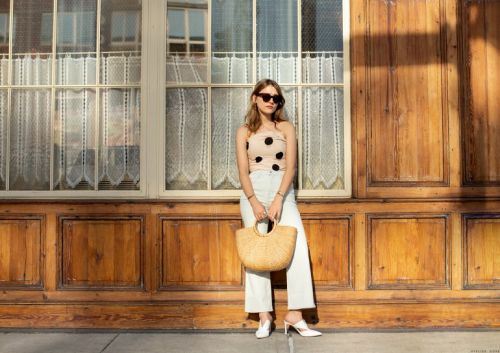 A Street Style With Lola Bessis
