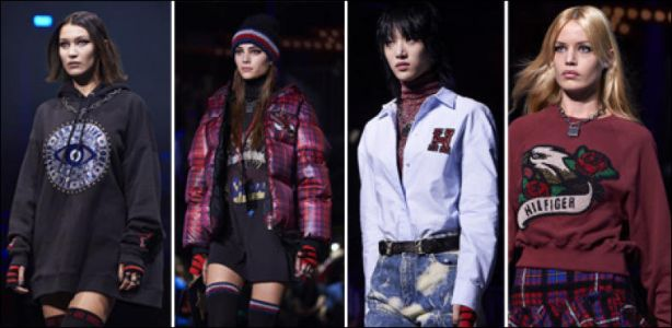 Fashion Week - La «rock attitude» au défilé de Tommy Hilfiger
